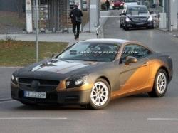 Новое поколение родстера Mercedes-Benz