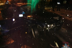 На перекрестке улиц Бобруйской и Свердлова в восьмом часу вечера произошло ДТП