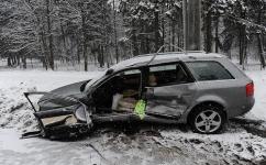 В Минске столкнулись Porsche Cayenne и Audi A6